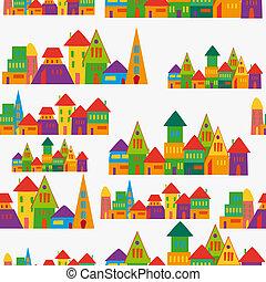 πόλη , χαριτωμένος , πρότυπο