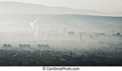 πόλη , ??smog