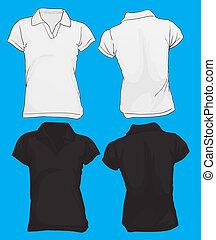πόλο πουκάμισο , φόρμα , women's