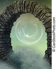 πόρτα , μαγικός