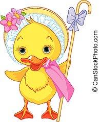 πόσχα , duckling , με , βοσκοπούλα , st