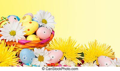 πόσχα , eggs.