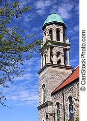 πύργος , εκκλησία