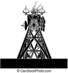 πύργος , τηλεπικοινωνία