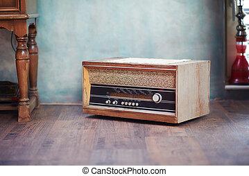 ραδιόφωνο , retro