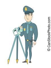 ραντάρ , control., κυκλοφορία , ταχύτητα , αστυνομικόs