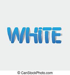 ρεαλιστικός , element:, σχεδιάζω , άσπρο