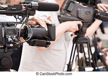 ρεπορτάζ , τηλεόραση