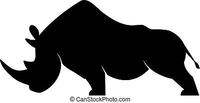 ρινόκερος , περίγραμμα