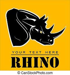 ρινόκερος , rhino