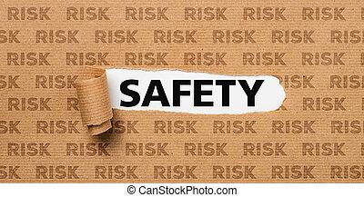 ριψοκινδυνεύω , μετοχή του tear , - , χαρτί , ασφάλεια , ή