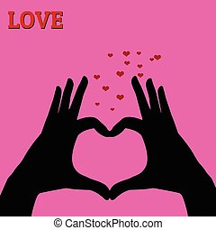 ροζ , αγάπη αναπτύσσομαι , γινώμενος , ανάμιξη