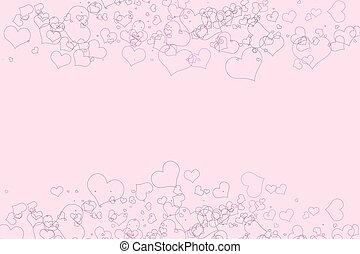 ροζ , αγάπη , με , αγαθός φόντο