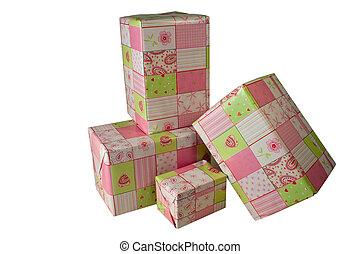 ροζ , παρόν έγγραφο , δώρο , - , 1 , χαρτί , αποκρύπτω