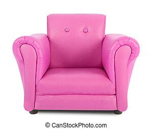 ροζ , πολυθρόνα