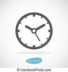 ρολόι , - , απομονωμένος , εικόνα , μικροβιοφορέας , εικόνα