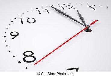 ρολόι , απομονωμένος , ζεσεεδ