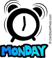 ρολόι , δευτέρα , εικόνα