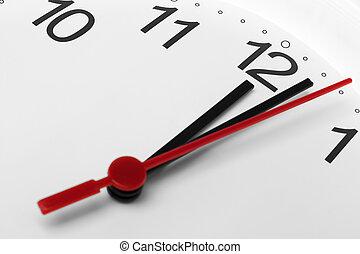 ρολόι , εκδήλωση , μεσάνυκτα , ζεσεεδ , παρελθών , φόντο , ώρα , άσπρο