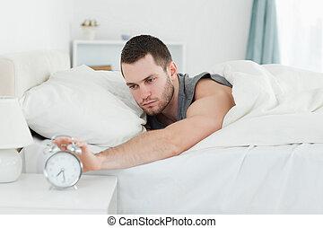 ρολόι , ζωή , τρομάζω , κουρασμένος , άγρυπνος , άντραs
