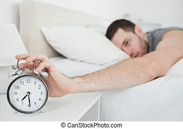 ρολόι , ζωή , τρομάζω , νέος , άγρυπνος , άντραs
