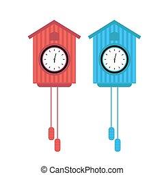 ρολόι , μικροβιοφορέας , απομονωμένος , εικόνα , εικόνα
