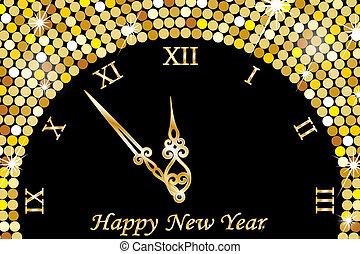 ρολόι , νέο έτος