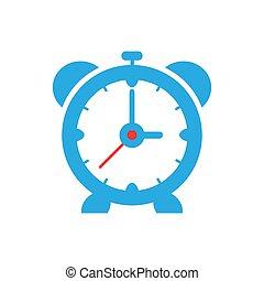 ρολόι , σπουδαίος , σχεδιάζω , μπλε , τρομάζω