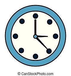 ρολόι , στρογγυλός , ώρα
