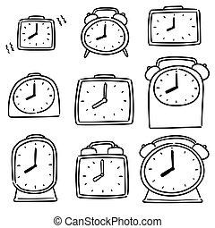ρολόι , τρομάζω , μικροβιοφορέας , θέτω