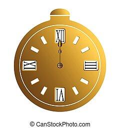 ρολόι τσέπης , απομονωμένος