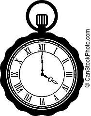 ρολόι τσέπης , μικροβιοφορέας , εικόνα