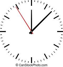 ρολόι , φόντο , εικόνα , άσπρο