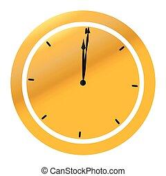 ρολόι , χρυσαφένιος , εικόνα