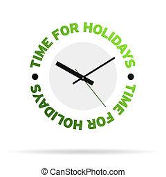 ρολόι , ώρα , διακοπές
