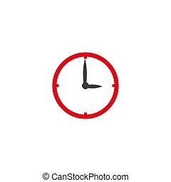 ρολόι , illustration., εικόνα , μικροβιοφορέας