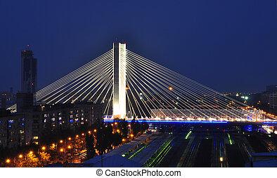 ρουμανία , basarab, γέφυρα , bucharest