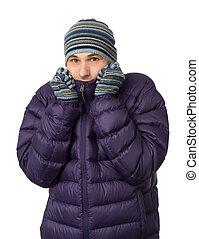 ρούχα , τουρτούρισμα , κρύο , χειμώναs , άντραs