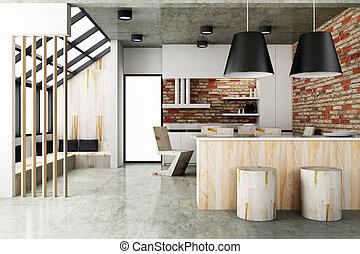 ρυθμός , δωμάτιο , σύγχρονος , γεύμα , σχεδιάζω , εσωτερικός