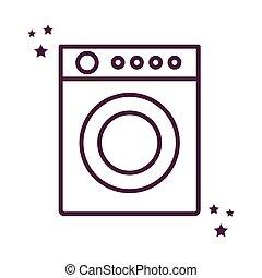ρυθμός , εικόνα , πλύση , μικροβιοφορέας , σχεδιάζω , μηχανή , γραμμή , απομονωμένος
