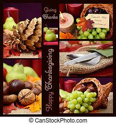 ρυθμός , εξοχή , collage., έκφραση ευχαριστίων , αγροτικός , αναθέτω βάζω στο τραπέζι