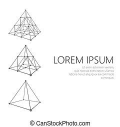 ρυθμός , επιχείρηση , polygonal, σχεδιάζω , φυλλάδιο , φίρμα