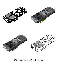 ρυθμός , ηλεκτρονικός υπολογιστής , illustration., προσωπικό , σύμβολο , απομονωμένος , φόντο. , μικροβιοφορέας , βίντεο , άσπρο , εικόνα , γελοιογραφία , κάρτα , στοκ