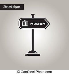 ρυθμός , μουσείο , σήμα , μαύρο , άσπρο , εικόνα