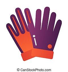 ρυθμός , προστασία , εργαλείο , degradient, καουτσούκ γάντι