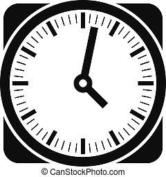 ρυθμός , ρολόι , απλό , μαύρο , retro , εικόνα