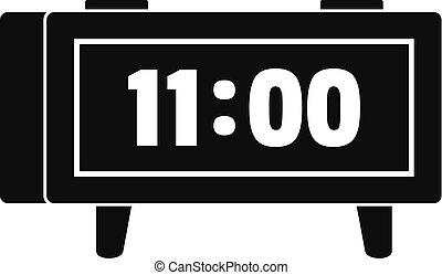 ρυθμός , ρολόι , απλό , τρομάζω , μαύρο , retro , εικόνα
