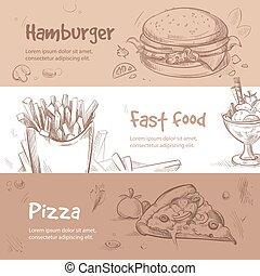 ρυθμός , τροφή , γρήγορα , χέρι , μικροβιοφορέας , σχεδιάζω...