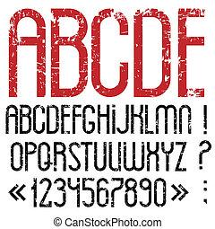 ρυθμός , grunge , αλφάβητο , στίξη , γράμματα , αριθμοί , βαθμολογία