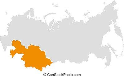 ρώσσος , χάρτηs , καζακστάν , ομοσπονδία